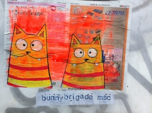 Kitties in Shoreditch
